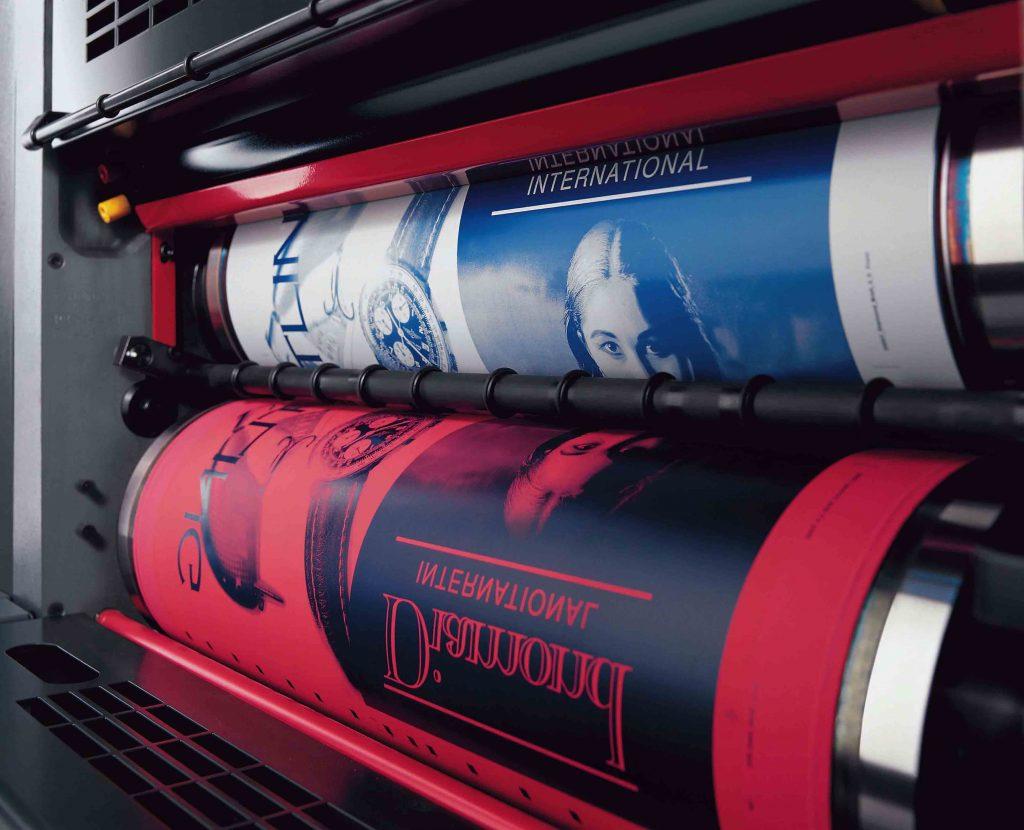 Офсетный тип печати полиграфической продукции